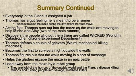 maze runner film explained maze runner