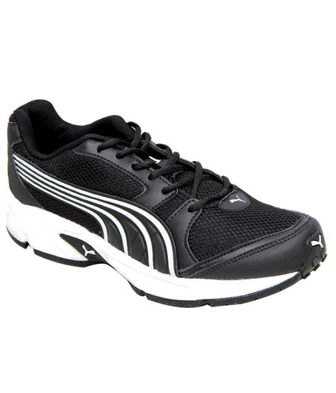 black sport shoes black sport shoes price in india buy black