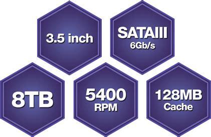 Wd Purple 8tb Sata Harddisk Cctv 3 5 Pen wd 8tb purple 3 5 quot sata3 cctv surveillance hdd drive