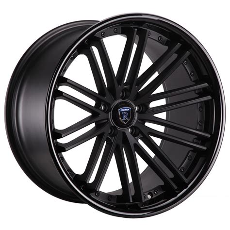 matt rims rohana rc10 alloy wheels in matt black