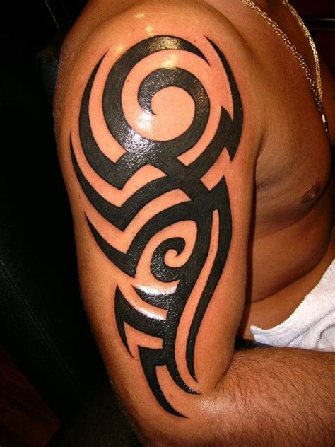 tribal upper arm tattoo best 25 tribal pictures ideas on mens