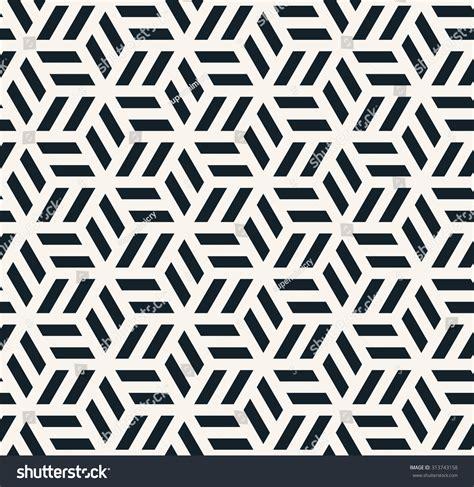 seamless pattern monochrome seamless monochrome hexagonal pattern stock vector