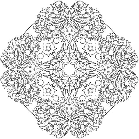 nature mandala coloring books nature mandala coloring pages leaf mandala coloring pages