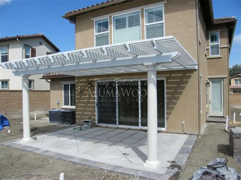 Alumawood Patio Cover design & installation Project Pictures