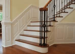 How To Install Chair Rail Molding With Wainscoting - custom wainscoting panels raised recessed amp shaker wainscoting designs