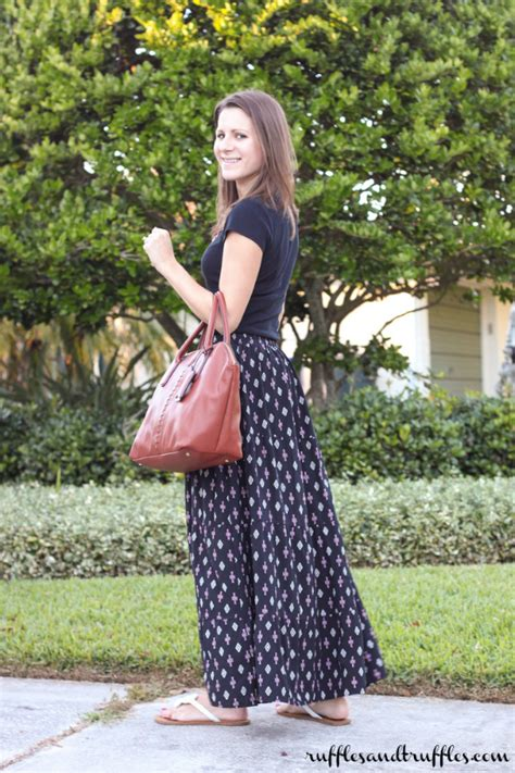 are maxi skirts still in style teacher style patterned maxi skirt