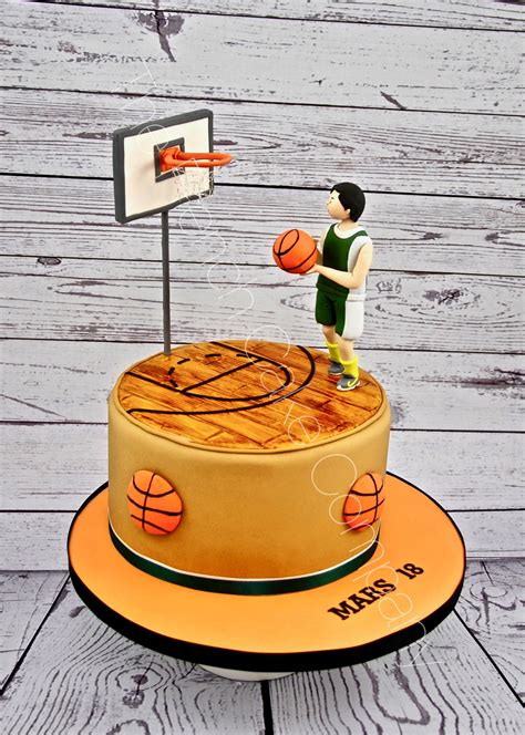 gateau anniversaire basketball  french cake company