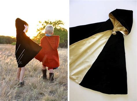 how to make a hooded cape