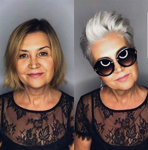 platinum blonde over salt and pepper salt and pepper gray hair grey hair silver hair white