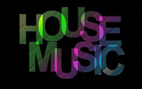 House Music Typography Black Background Stripes Wallpapers Hd Desktop And Mobile