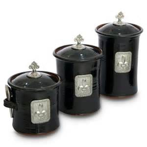 Fleur De Lis Kitchen Canisters by Page Not Found