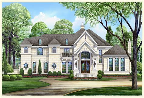 chateau home plans lovely chateau le mont house plan