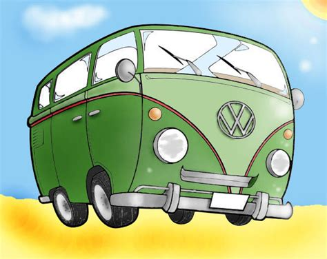volkswagen van cartoon volkswagen van cartoon www imgkid com the image kid