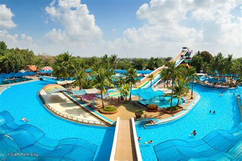 siam park city bangkok ticket  day   lunch