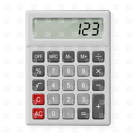 Calculator Simple | simple gray calculator 6919 objects download royalty