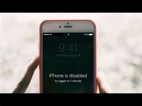 iphone is disabled how to unlock iphone