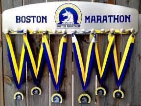 medal displays hang medals boston marathon ironman
