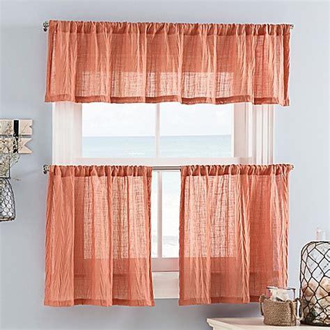 mini curtain weston mini window curtain tier and valance bed bath