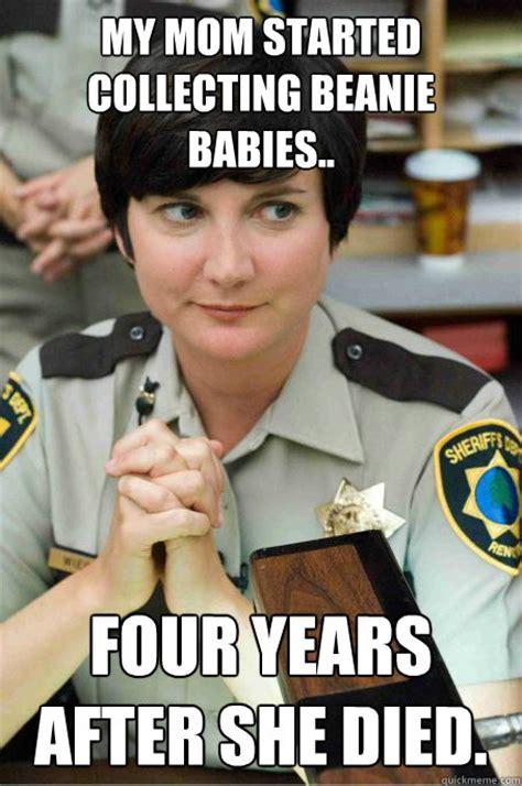 Reno 911 Meme - beanie baby memes
