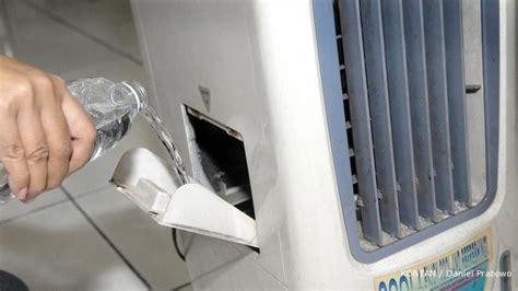 Kipas Angin Es Batu jangan terlalu lama menyalakan air cooler