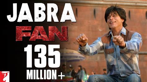 film fan jabra song fan shah rukh khan nakash aziz youtube