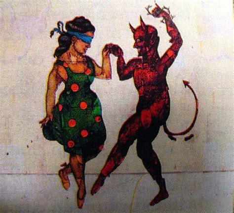 dancing with the devil tattoo vintage tattoos mexican loteria