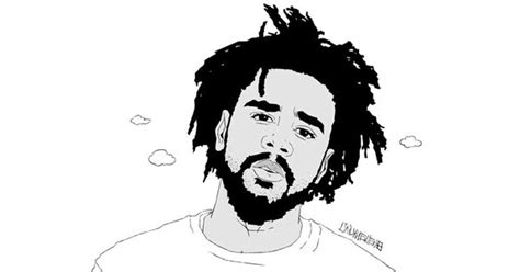 J Cole Drawing Easy by J Cole High For Hours Mp3