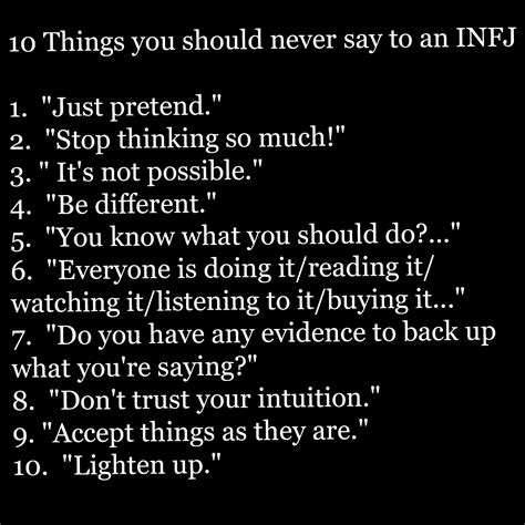6 Things You Must Never Say To A Heartbroken Person by 10 Things You Should Never To Say To An Infj Infj