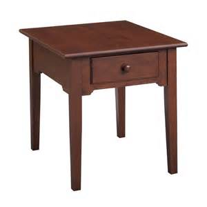 Cherry End Tables Leisters Furniture 407 Shaker Cherry End Table Atg Stores