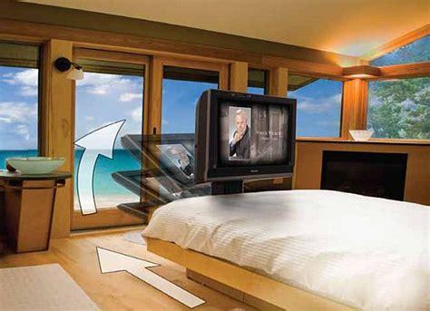under bed tv mount auton dream machine hides your tv under the bed