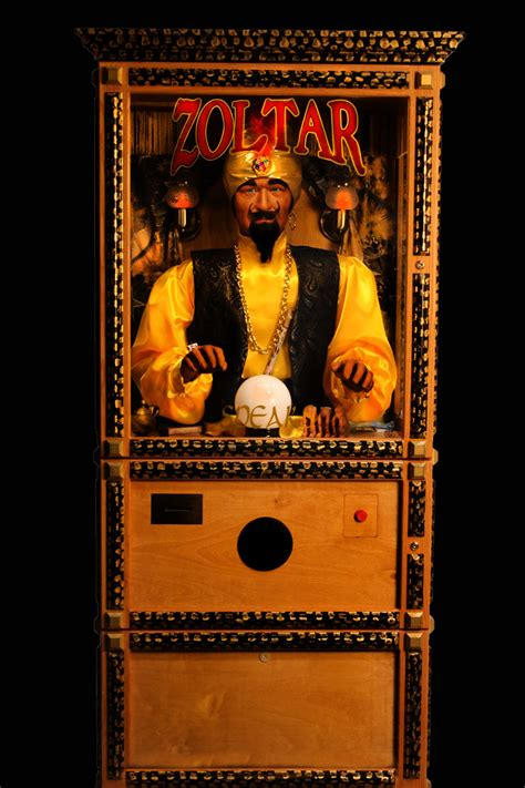 Zoltar A Novelty That Tells Your Fortune And Costs A Small Fortune by Now Agr Las Vegas Can Read Your Future With Zoltar Agr