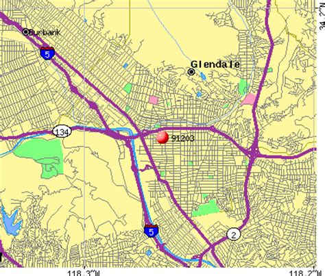 zip code map glendale ca 91203 zip code glendale california profile homes