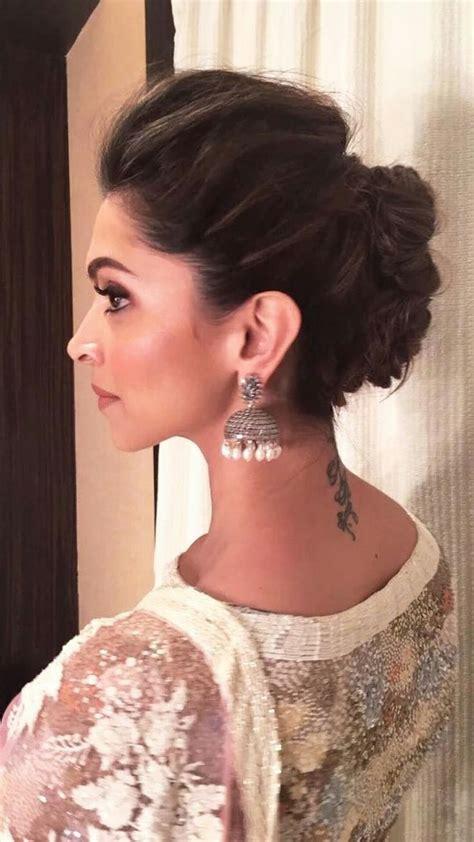 hairstyle  sari images  pinterest indian