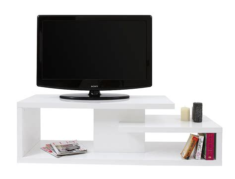 mobile tv mobile tv design laccato bianco halton miliboo