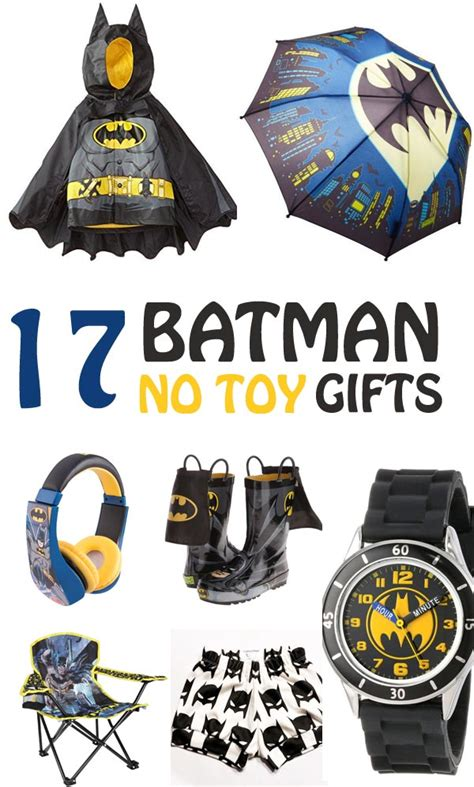 17 non toy gifts for boys who love batman non toy gifts