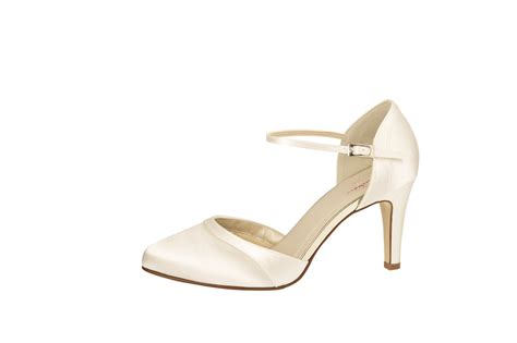 Satin Schuhe Ivory by Ivory Brautschuh Quot Robin Quot Satin Ivory Auslaufmodell