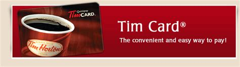 gorvin s marketing blog the benefits offered by the tim horton s tim card