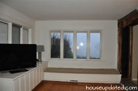 this old house window seat diy window seat and built ins project s started house updated