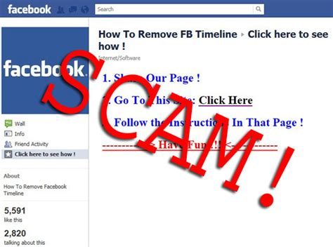 Usa Search Scam Beware Of Remove Timeline Scams Pcworld