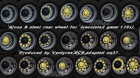 Wheel Pack iveco wheels pack ets 2 mods