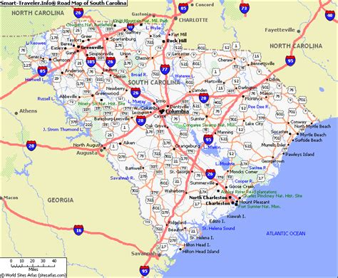 south carolina cities map south carolina cities map partition r eafabdefa83f