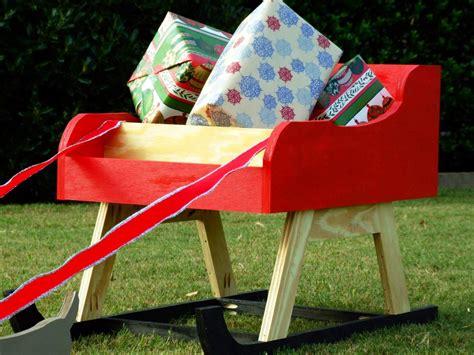 diy paper sleigh kids how to build an outdoor santa sleigh with reindeer how tos diy
