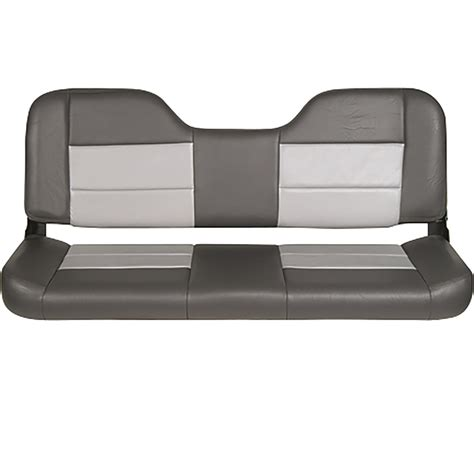 plastic folding bench seat tempress 48in folding bench seat charcoal gray