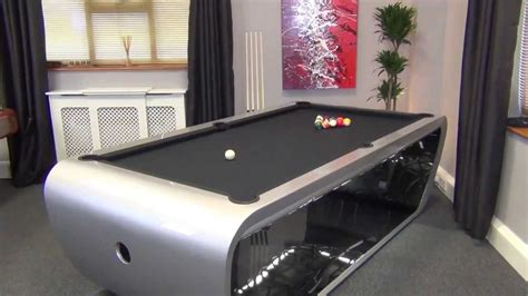 how much room for a pool table blacklight pool table