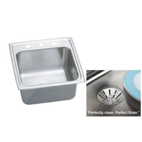 elkay lkdc2085 10 3 8 single handle kitchen faucet in chrome elkay gourmet undermount stainless steel 19 5 in 3 hole