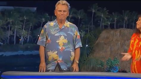 But He S pat sajak walks wheel of fortune but he s just