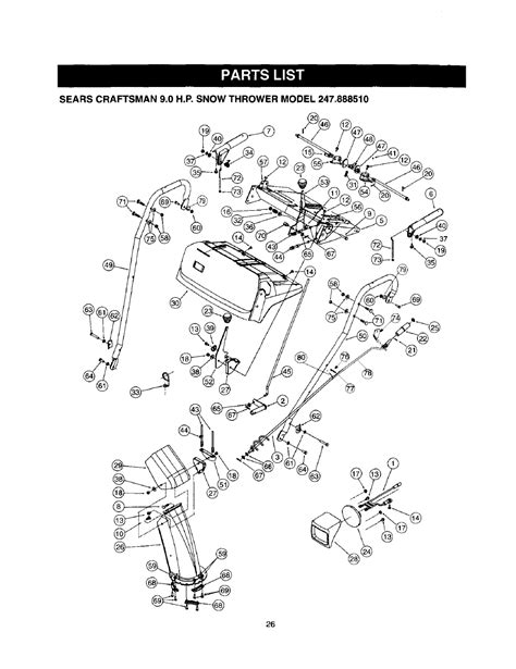 CRAFTSMAN SNOWBLOWER OWNERS MANUAL ONLINE - Auto