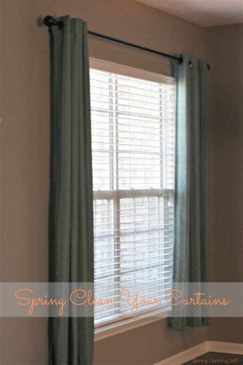 how to wash curtains at home spring clean your dining room curtains i dream of clean
