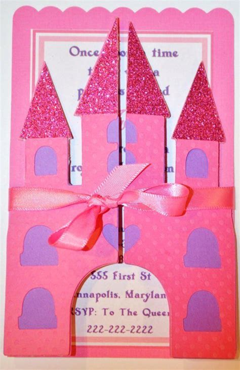 castle invitation template 1000 ideas about princess castle on mike the