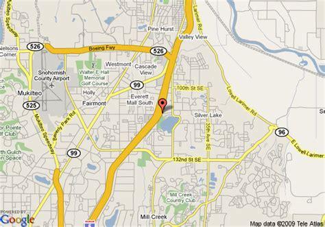 seattle map everett map of extended stay deluxe seattle everett everett